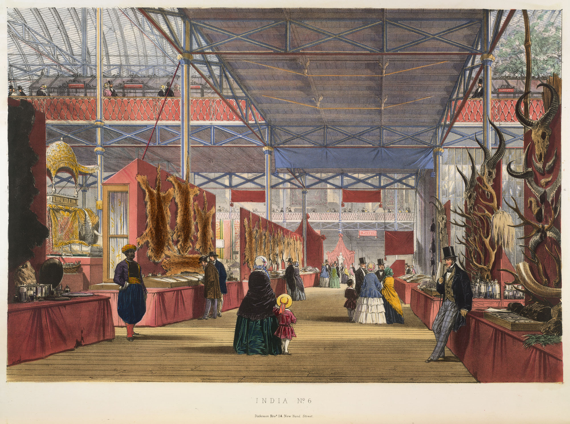 The Great Exhibition, Crystal Palace, London, 1851