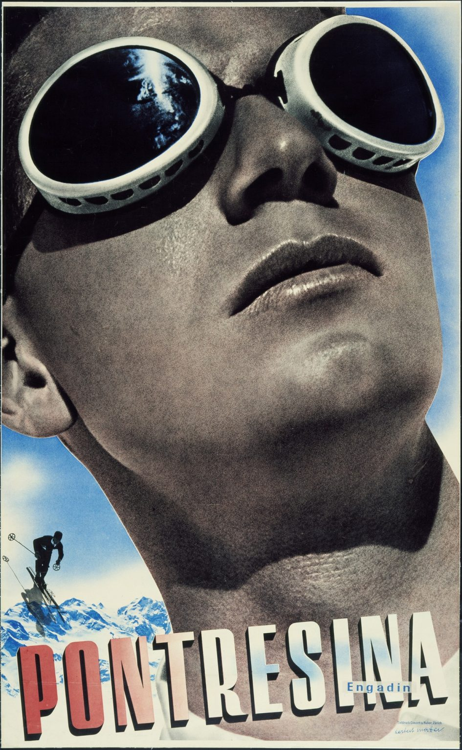 Herbert Matter Travel Poster