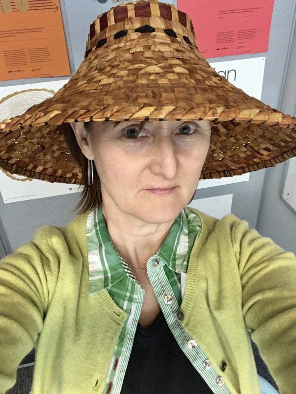 Coast Salish Cedar Hat